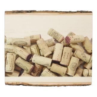 Wine Corks Wood Panel