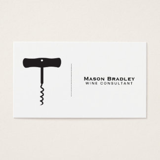 Wine | Corkscrew II Business Card