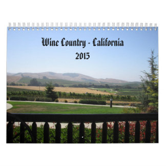 Wine Country - California 2015 Wall Calendars