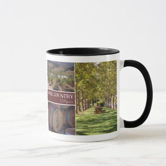 Wine Country, California Mug