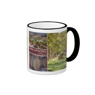 Wine Country, California Ringer Mug