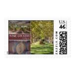 Wine Country, California Stamp