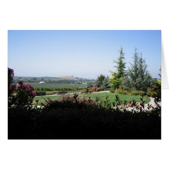 Wine Country Card