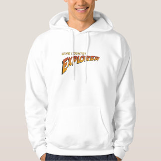Wine Country Explorer Indiana Jones Style Hoodie