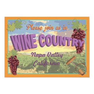 Wine Country Getaway Bachelorette Weekend Invite