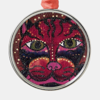 Wine Country Kitty Christmas Ornaments