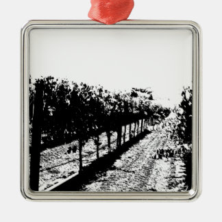 Wine Country Christmas Tree Ornament