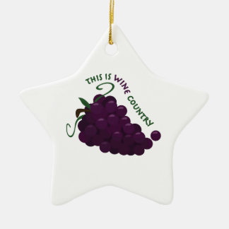 Wine Country Ornaments