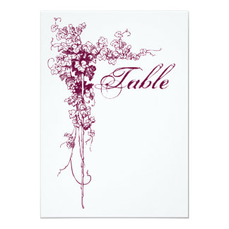 Wine Country Wedding Card