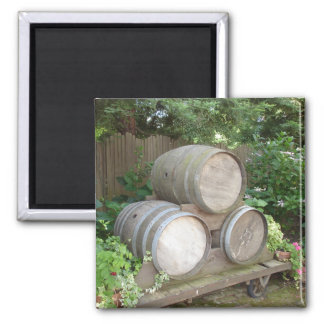 Wine Country Wine Barrels Magnet