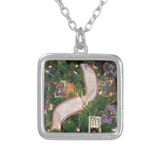 Wine Decorative Ocassion Silver Plated Necklace