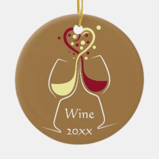 Wine Design Ornament