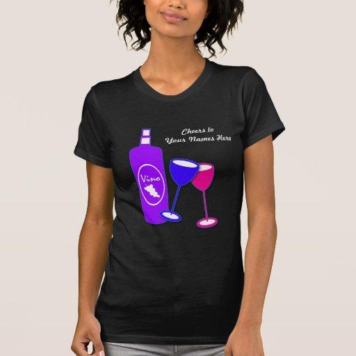 Wine Design Salute Women's T Shirt