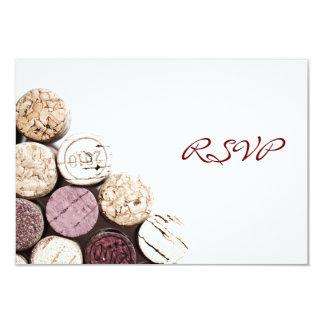 Wine dinner celebration invitation