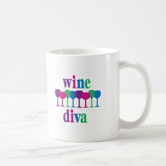 Wine Diva4 Coffee Mugs