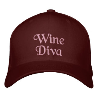Wine Diva Embroidered Baseball Cap