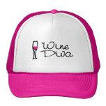 Wine Diva Mesh Hat