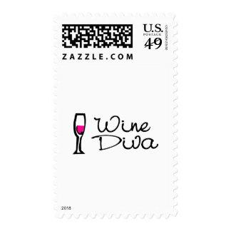 Wine Diva Stamps