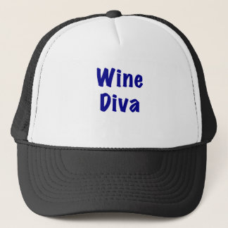 Wine Diva Trucker Hat