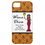"Wine Diva ""Wine Is My Award For Being Fabulous"" iPhone 5 Covers"