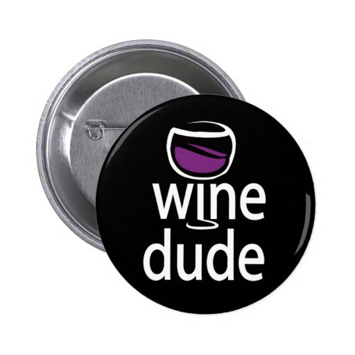 Wine Dude Buttons