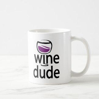 Wine Dude Coffee Mug