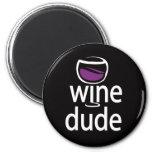 Wine Dude Refrigerator Magnets