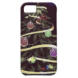 Wine eight-tree (dark blue) iPhone 5 cases