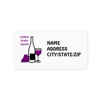 WINE ENTHUSIAST ADDRESS LABELS