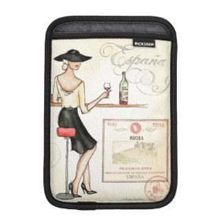 Wine Fashionista iPad Mini Sleeve