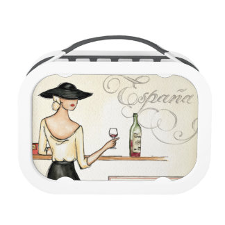 Wine Fashionista Yubo Lunch Box