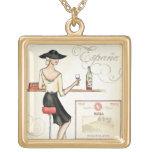 Wine Fashionista Necklace
