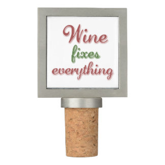 Wine Fixes Everything Wine Stopper