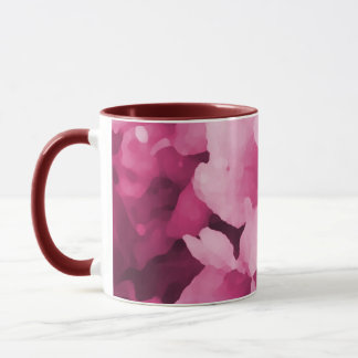 Wine Flowers Mug