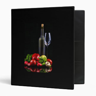 Wine for a Salad 3 Ring Binder