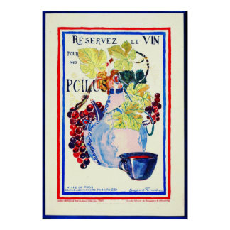 Wine for Soldiers 1916 Poster