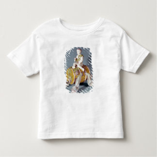 Wine fountain in the shape toddler t-shirt