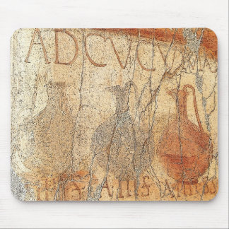 Wine Fresco in Herculaneum Mouse Pad