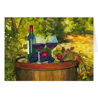 Wine: Fruit of the Vine Greeting Card