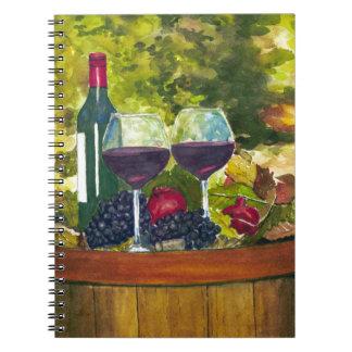 Wine: Fruit of the Vine Notebooks