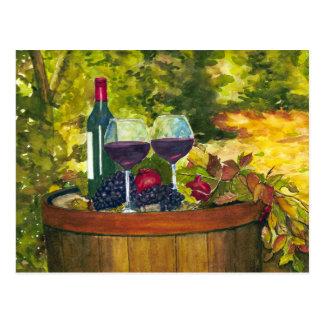 Wine: Fruit of the Vine Postcard