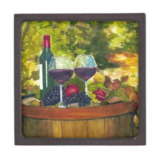 Wine: Fruit of the Vine Premium Keepsake Box