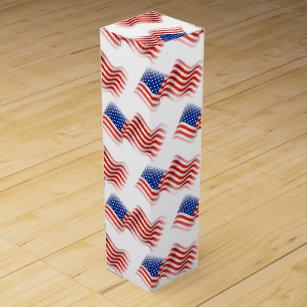 July 4th Wine Gift Boxes Keepsake Boxes Zazzle
