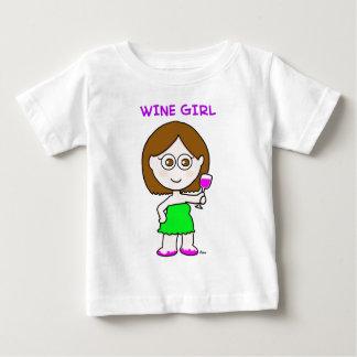 wine girl baby T-Shirt