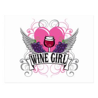 Wine Girl Postcards