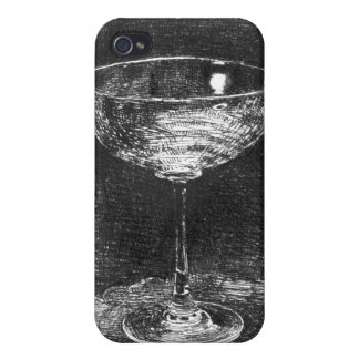 Wine Glass 1860 iPhone 4 Cover