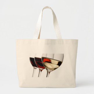 Wine Glass Canvas Bag