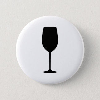 Wine glass button