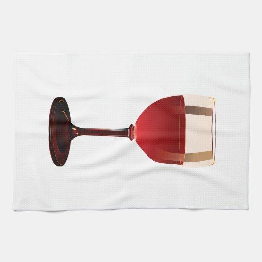 Wine Glass Kitchen Towels