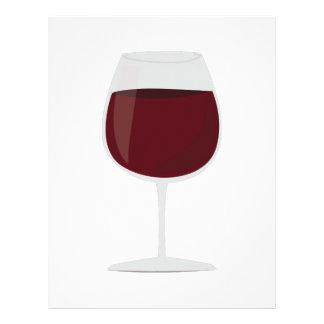 Wine Glass Letterhead Design
